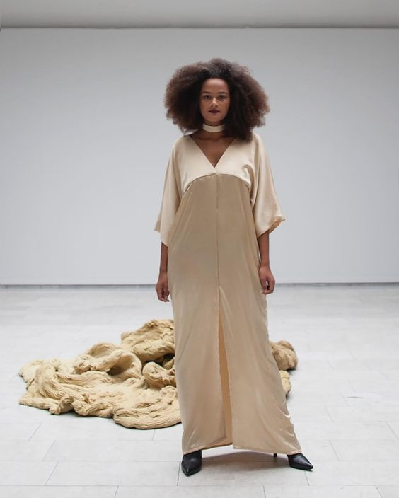 Mo Friis  - The Anti-Depressant Dress - Dyed with St Johns Wort