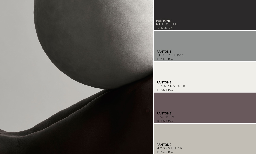 Moon Dust Colour Palette by Tactile Trends | Photography -   Jonas Bjerre-Poulsen      Close Contact is an exhibition at Kinfolk Gallery in collaboration with Kinfolk, Norm.Architects and Sorensen Leather