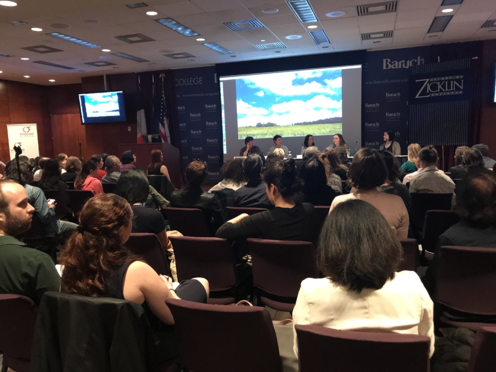 Sustainable Fashion Panel Discussion at New York City's Baruch College