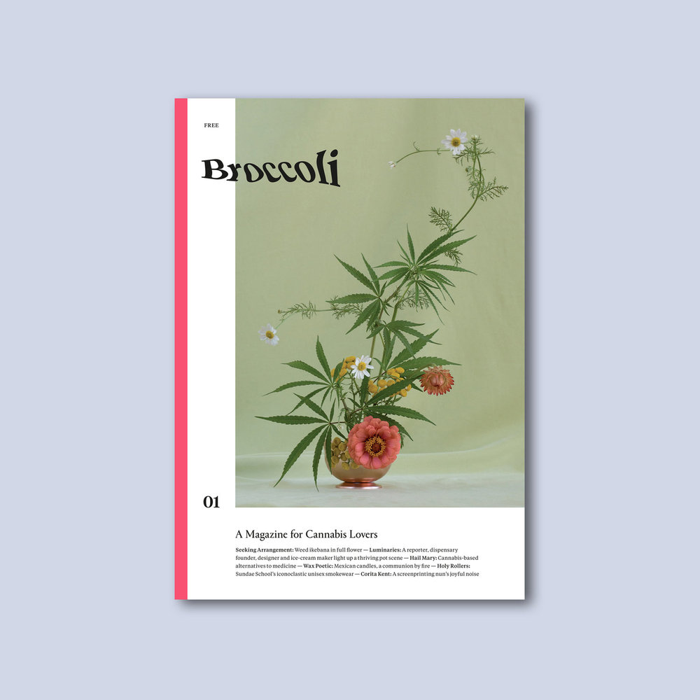 Image:  Broccoli  Magazine Front Cover - Issue One