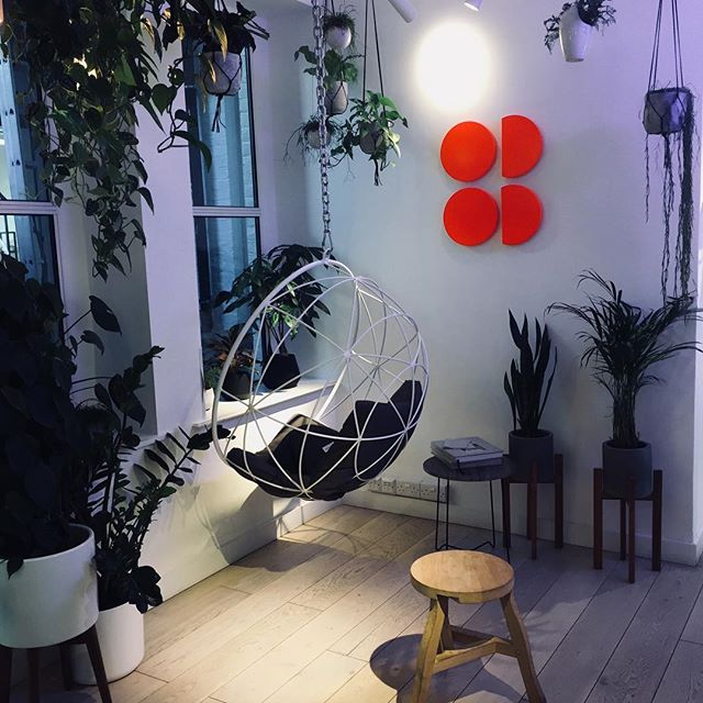 Retail spaces evolve into what feels like boutique 'members clubs' offering lifestyle services and modern cafe culture . #tactiletrends #farmgirl #london #retail #sweatybetty #active #bodywear #wellness #trend #designlife #trendresearch
