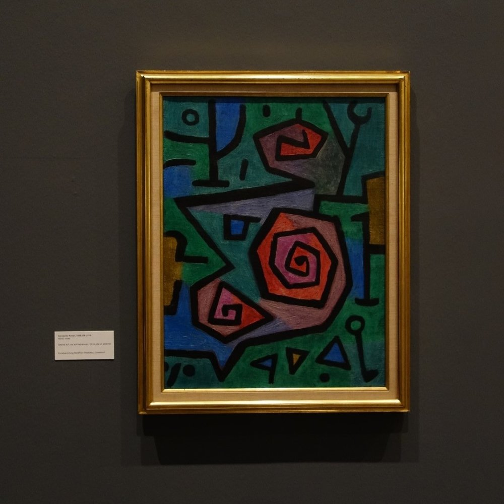 Paul Klee. A Collection Travelling Around the World  Heroic Roses, 1938