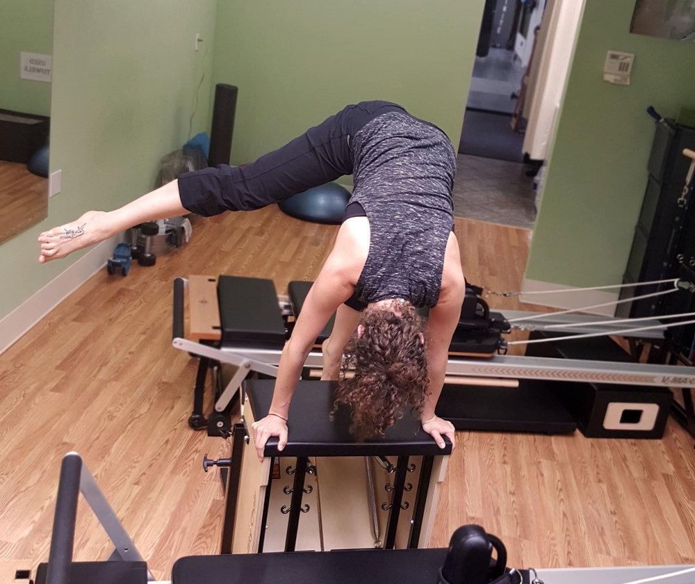 Pilates for climbers