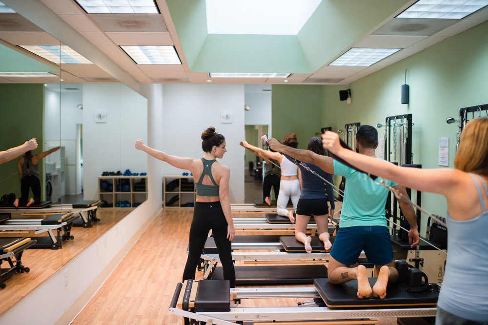 We have one mission - getting you outdoingwhat you love most. The Pilates Reformation classmodels are designed to help you achieve your fitnessgoals whether you're running a marathonor recovering from injury.That is, after all,what Pilates was made for. -