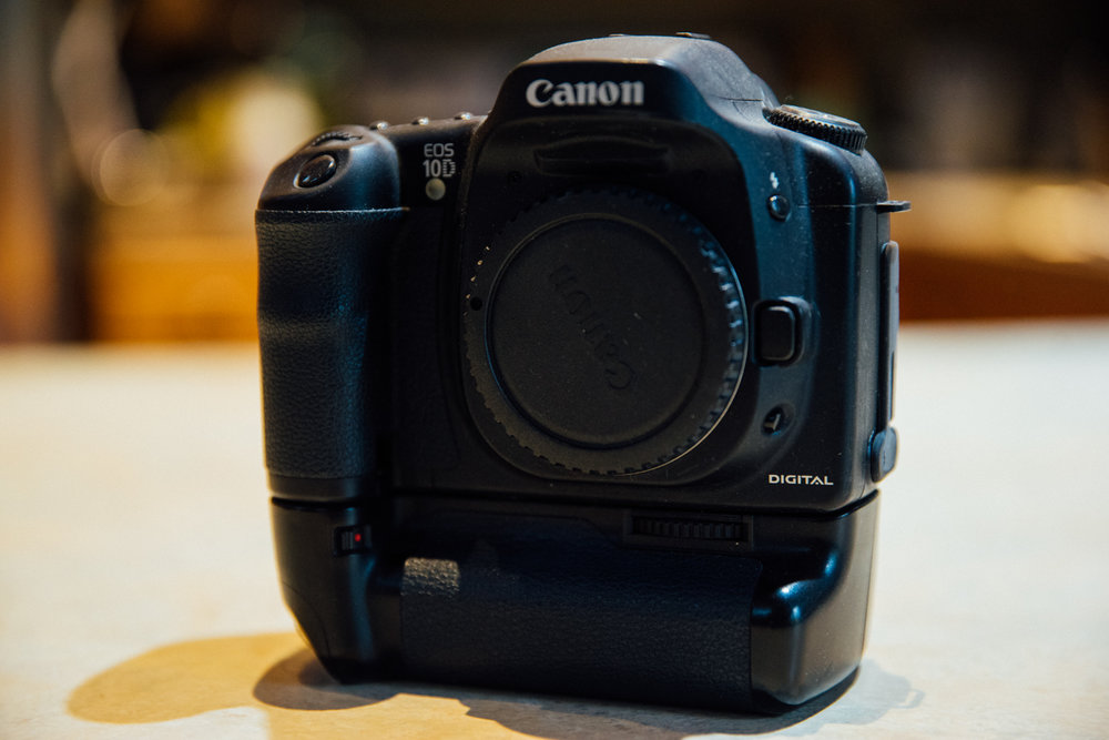 My old workhorse - the Canon 10D.