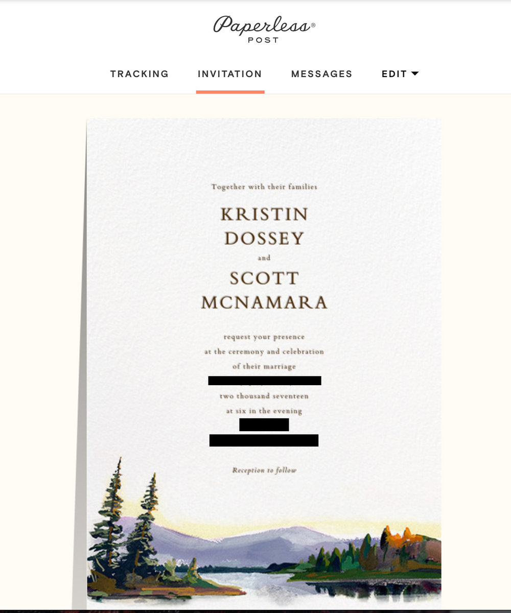 the magic of paperless invitations