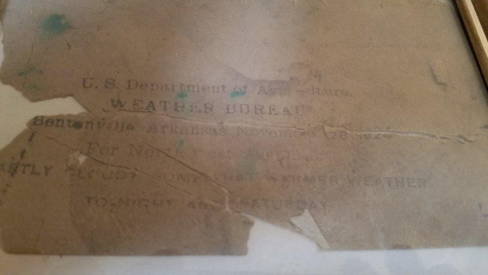 Weather Bureau 1924