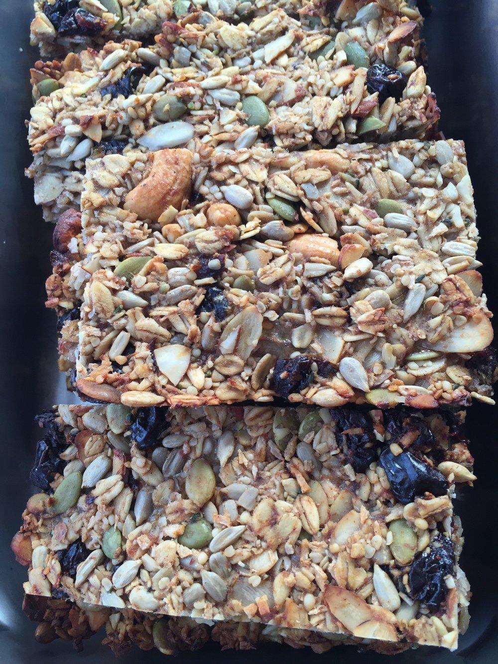 Fuel the Habit Granola Bars