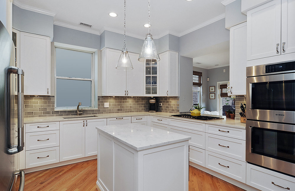 Classic kitchen renovation lakeview