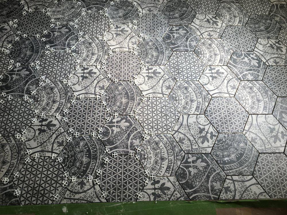 Mudroom Floor