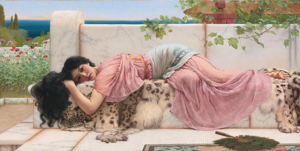 John William Godward, 1902