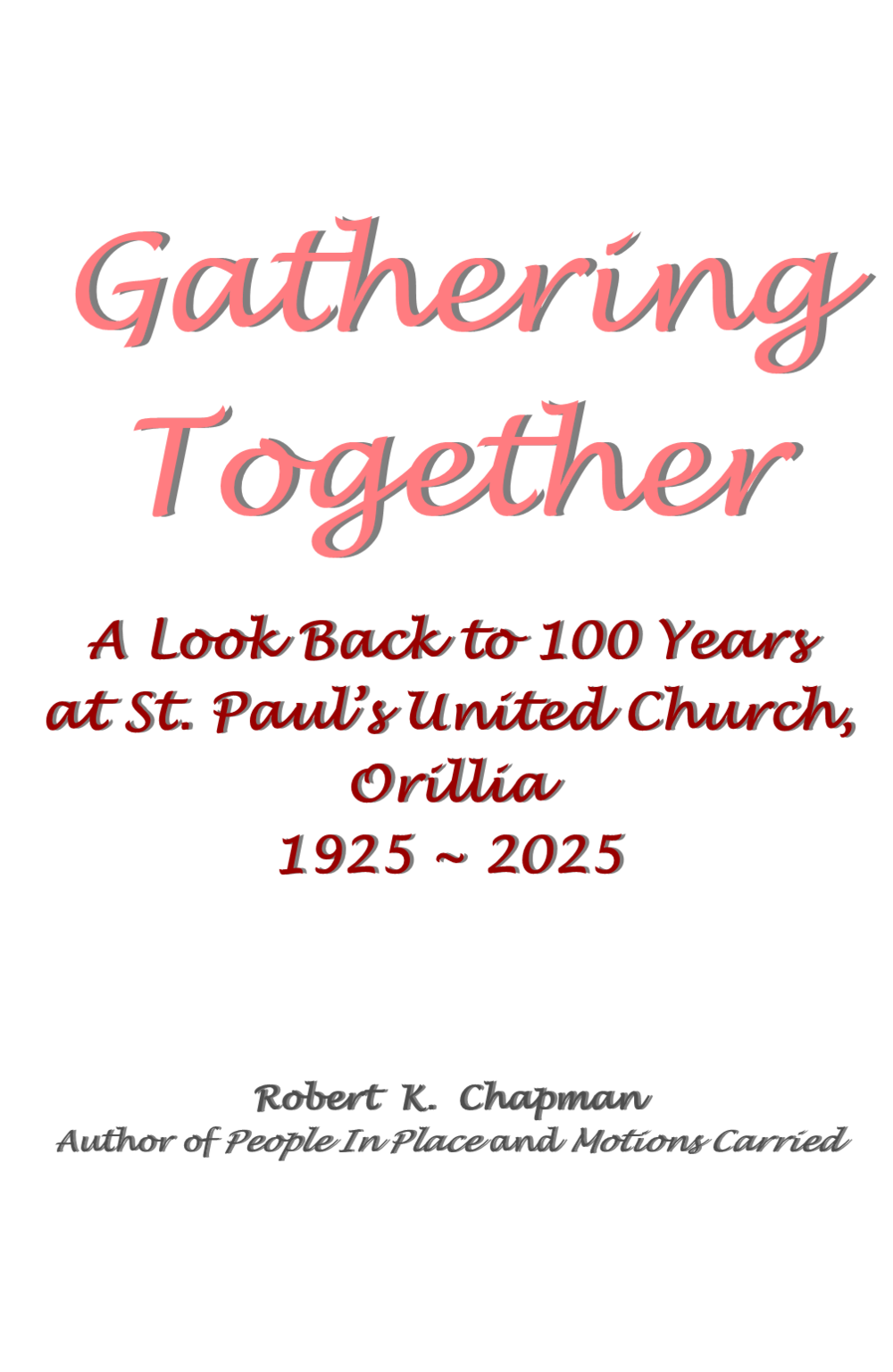 Gathering Together front cover