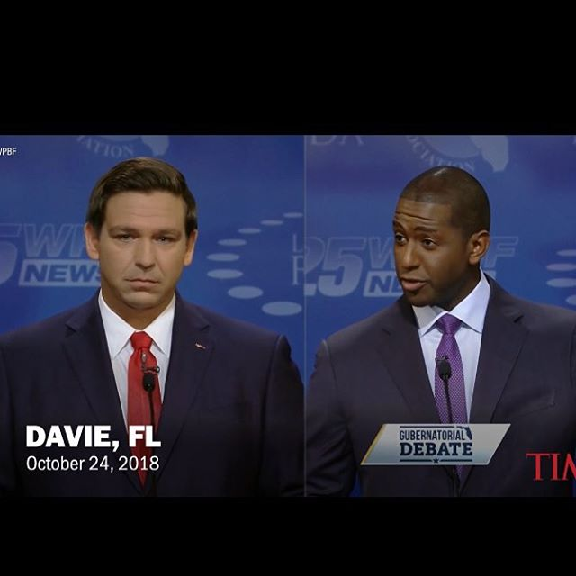 "Florida friends get out there if you haven't already. ""I'm not calling Mr. DeSantis a racist,"" Gillum concluded. ""I'm simply saying the racists believe he's a racist."" #AHITDOGWILLHOLLER"