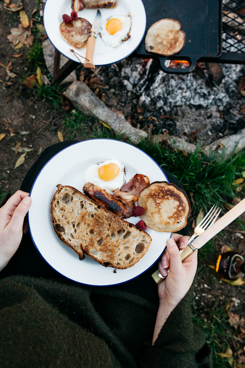 Campfire Breakfasts + Misty Mornings at The Wriggly Tin