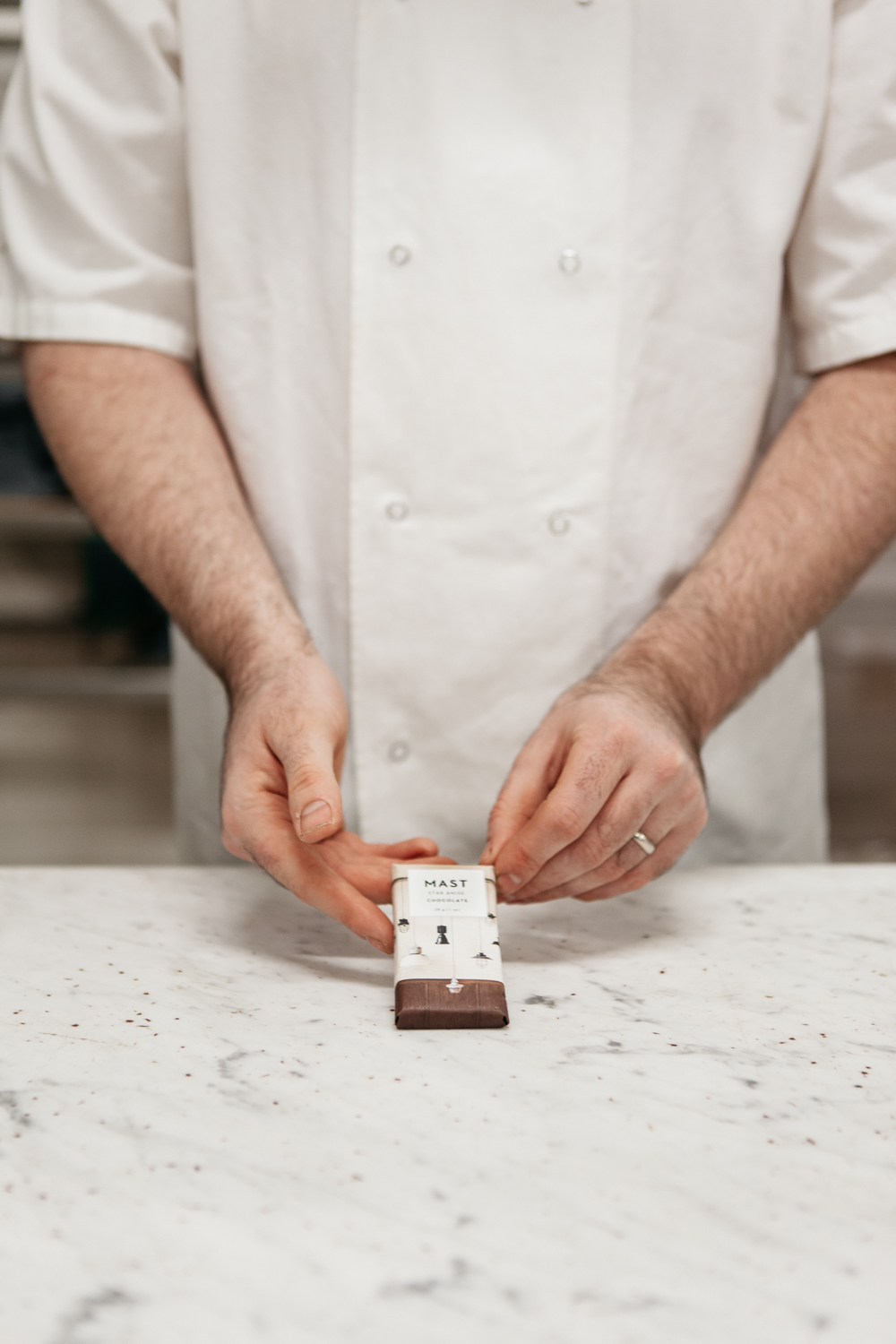 MAST Brothers Chocolate Bar for Town Hall Hotel / Rye London
