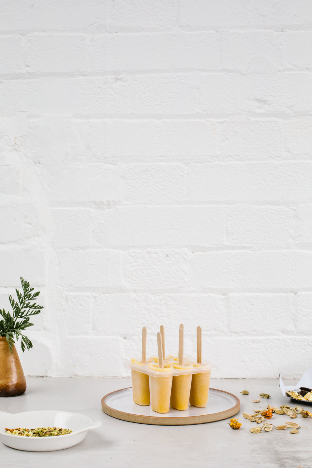 Carrot Halwa Popsicles by Erika Raxworthy / Rye London