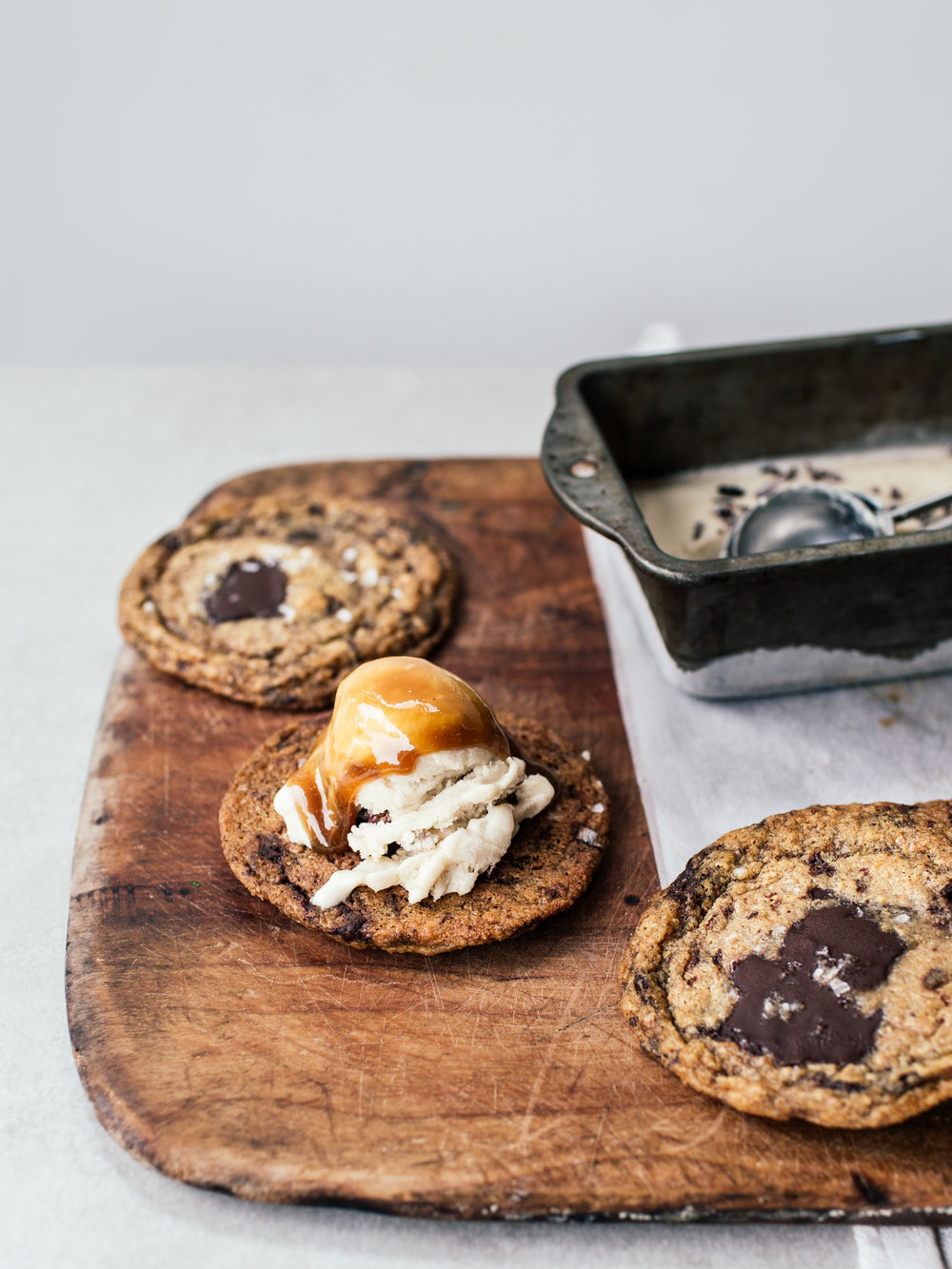 Banoffee Ice Cream Sandwiches By Izy Hossack