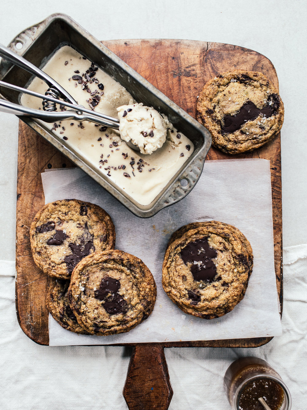 Banoffee Ice Cream Sandwiches By Izy Hossack