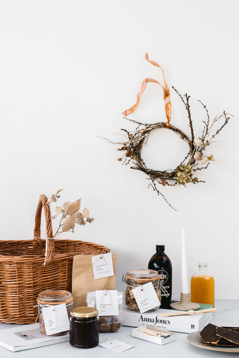 Seasonal Gift Basket by Rye