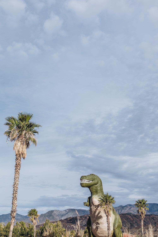 Cabazon Dinosaurs, Palm Springs, California