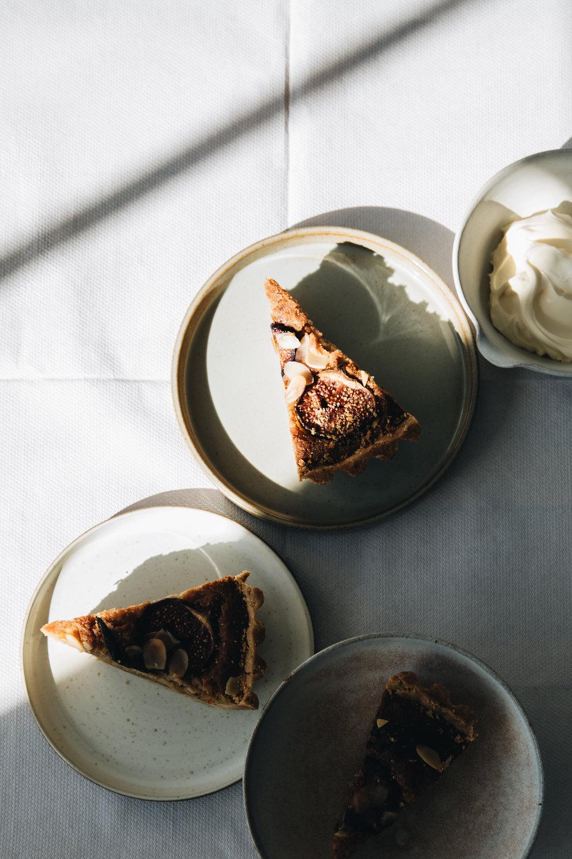Fig & Sage Frangipane Tart