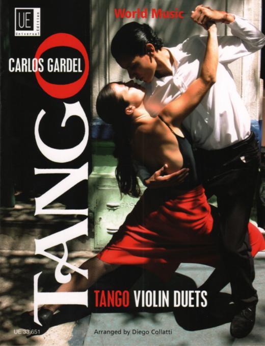 C. GARDEL (1890 - 1935)   Tangos pour violon et violoncelle (arr. Diego Collatti)  - Melodia de arrabal - Por una cabeza - El dia que me quieras - Mi Buenos Aires querido - Volver