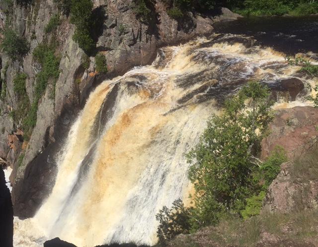 High Falls, Baptism River