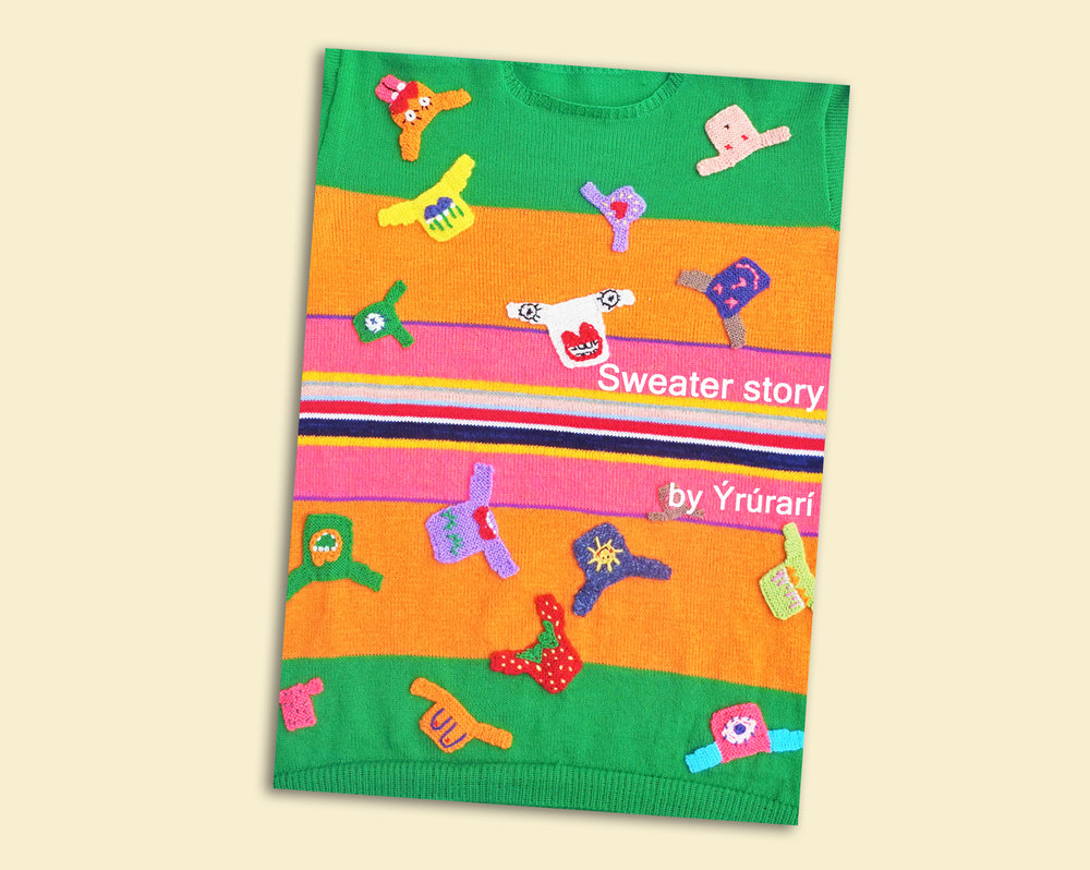 "The web store is currently kind of empty since I'm focusing on my studies. There are still some copies of ""Sweater story"" the postcard book left to look at while waiting for some new knits. You can also subscribe to the mailing list or follow up on what I'm doing at school on Instagram!"