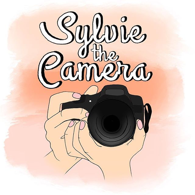 Speaking of @sylviethecamera, this logo is waiting to greet you on her website 📸