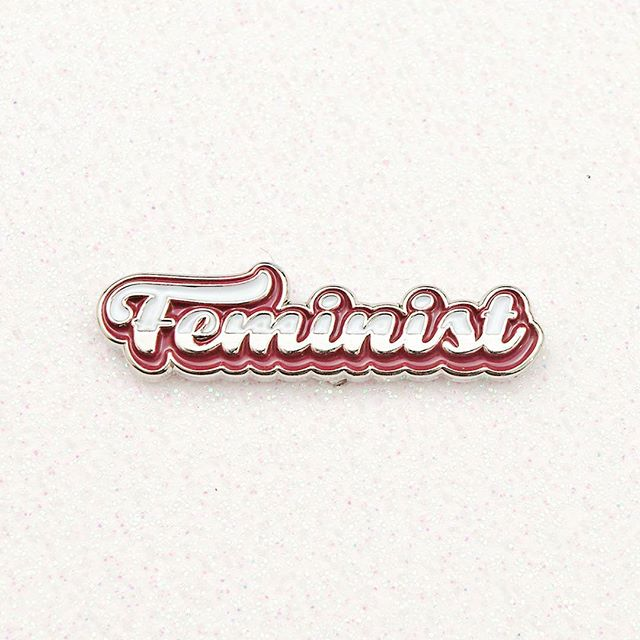 Proud to be a #feminist #feminism #pinhead #pingame #pingamestrong #accessories #pincollector #pinstagram #pins #badge #enamelpins #enamelpin #pincollection #pincommunity #poweruppins #strong #lapelpin #pinlife #flair