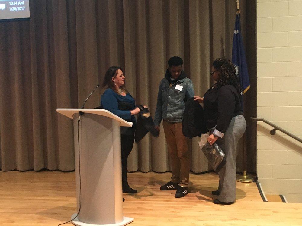The Orangeburg-Calhoun Technical College Youth Forum.