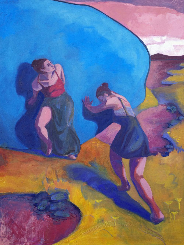 "Oil on Canvas  48""x36""  2016"