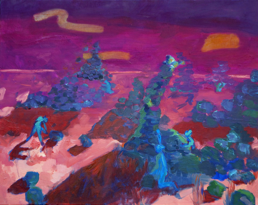 "Oil on Canvas  24""x30""  2016"