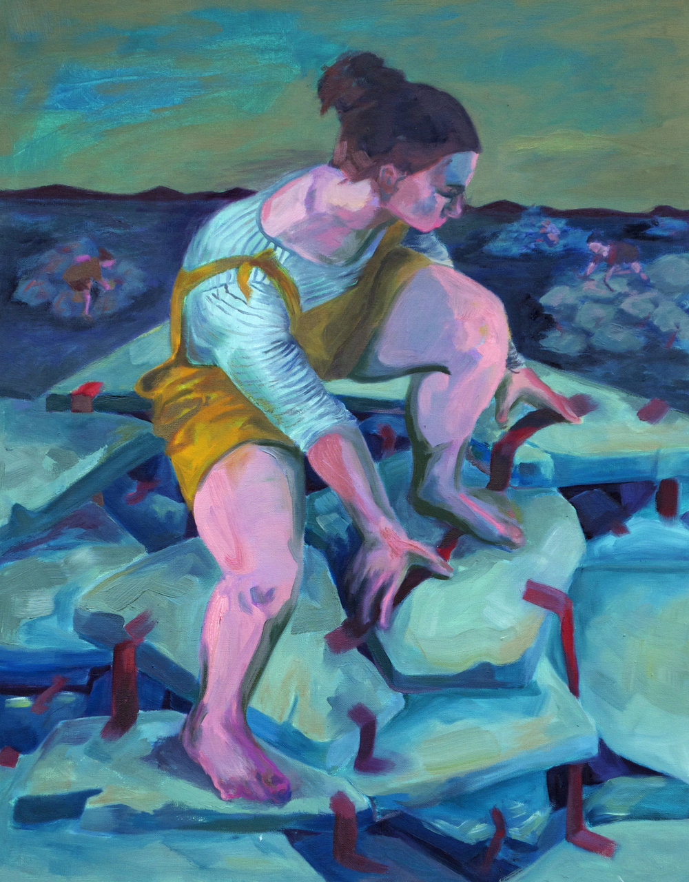 "Oil on Canvas  28""x22""  2016"