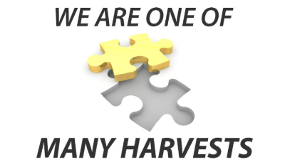 WE ARE ONE OF MANY HARVESTS