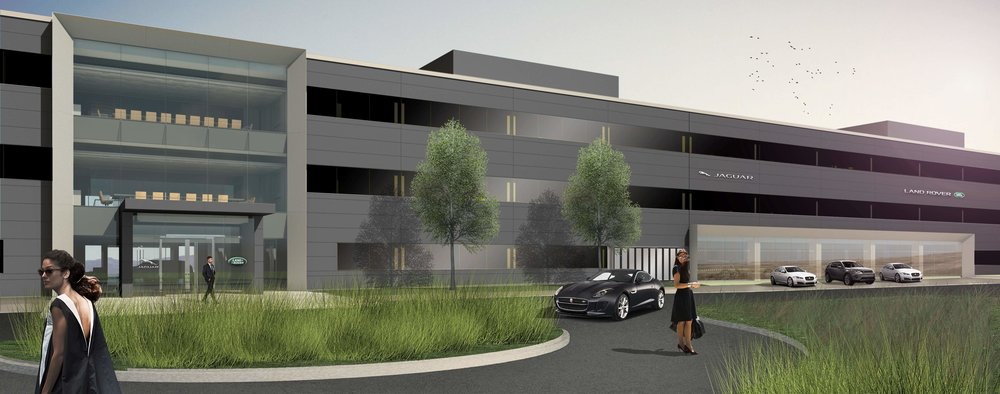 Jaguar gets approval to customize, expand new Mahwah HQ; signs long
