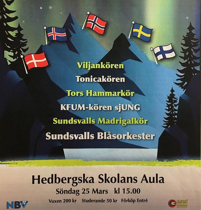 Det här får ni bara inte missa! Så in i Norden - ett musikaliskt äventyr i tid och rum på resa genom Nordens länder.