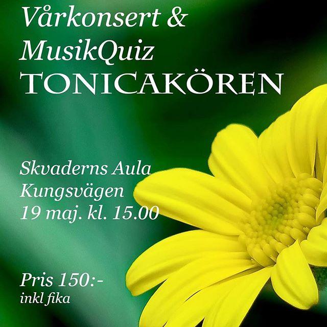 Missa inte detta! 🎶 Körsång, fika, musikquiz. Solister: Ingeborg och Alva Lindgren.