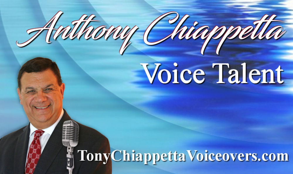 Tony Chiappetta business card side 1