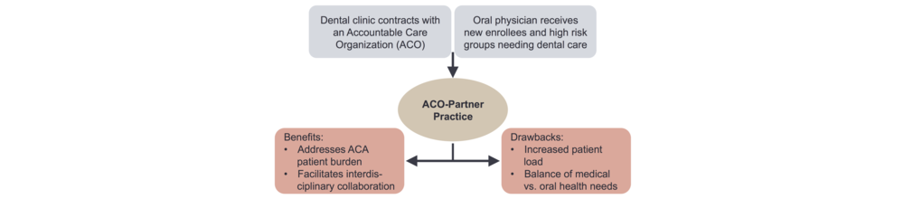 Figure 5. The ACO contract model for the oral physician.