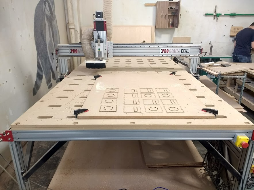 The CNC Router Parts machine we used