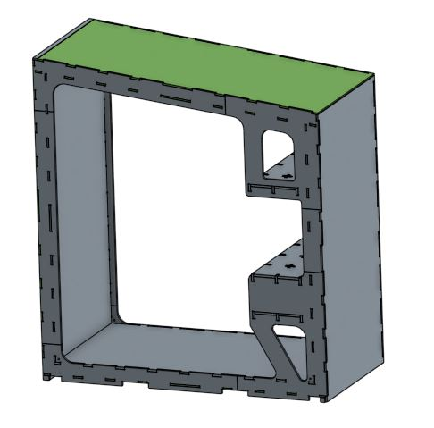 Module 2 Shelving - Access the CAD files for the second module with built in shelving