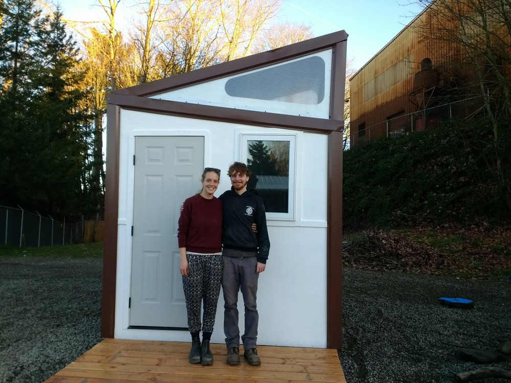 Tiny house, regular size us