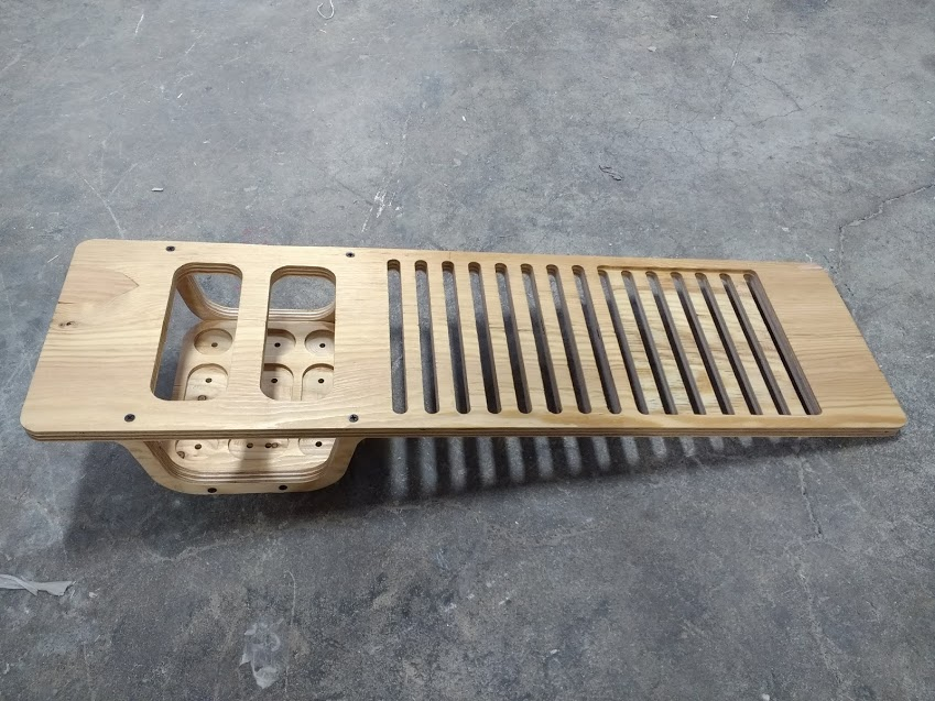 CNC Cut Dish Rack