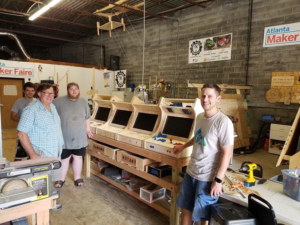 Delloman made four beautiful arcade cabnets this week.jpeg
