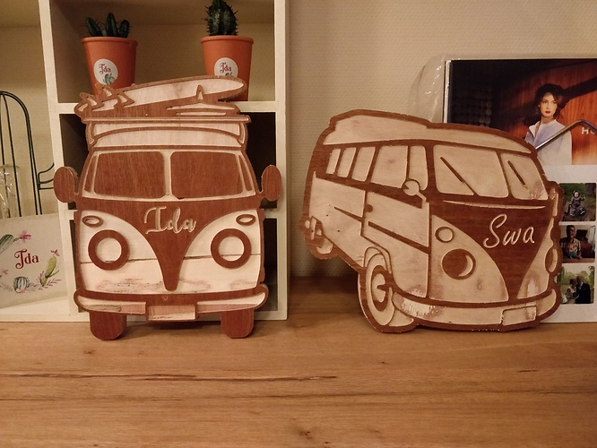 Dag83's VW Van Door Signs
