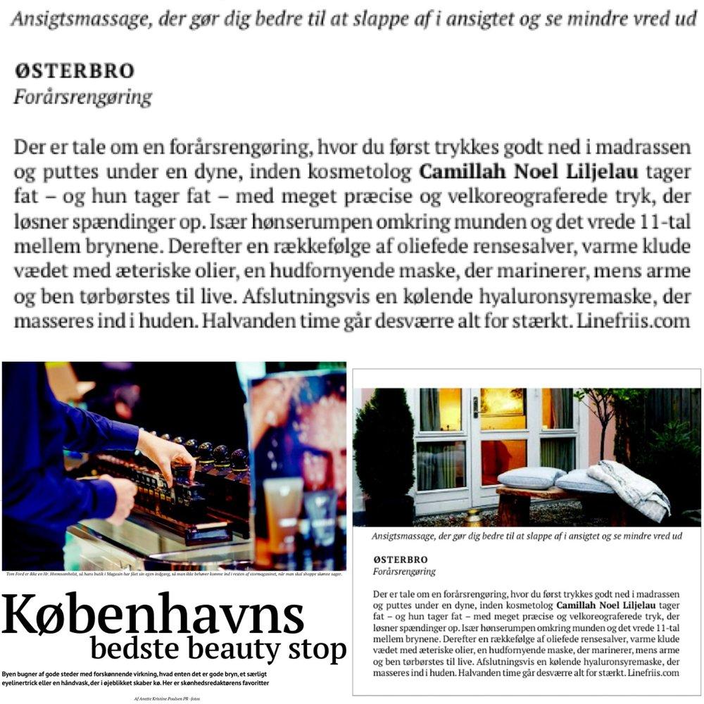 BØRSEN WEEKEND 2014: KØBENHAVNS BEDSTE BEAUTY STOP