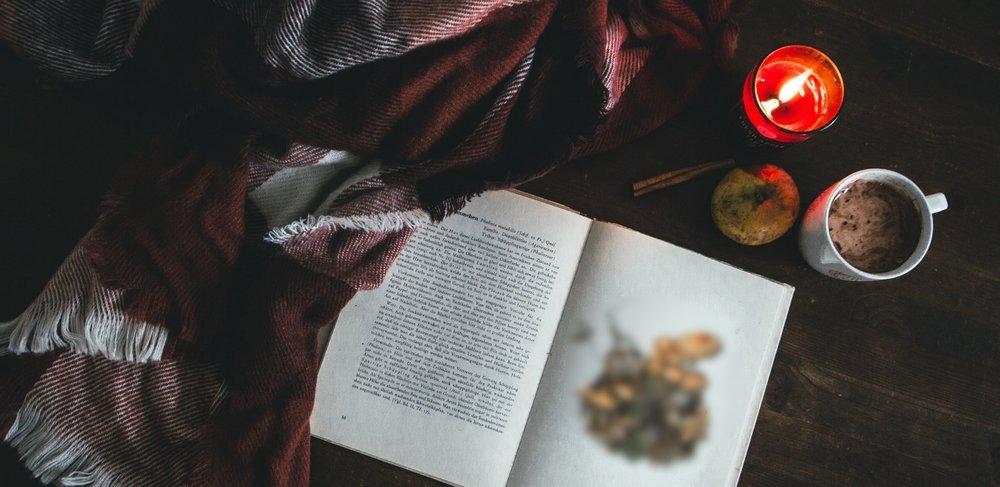 blanket, book, candle .jpg