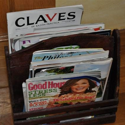 magazines at gironalet apartment rental