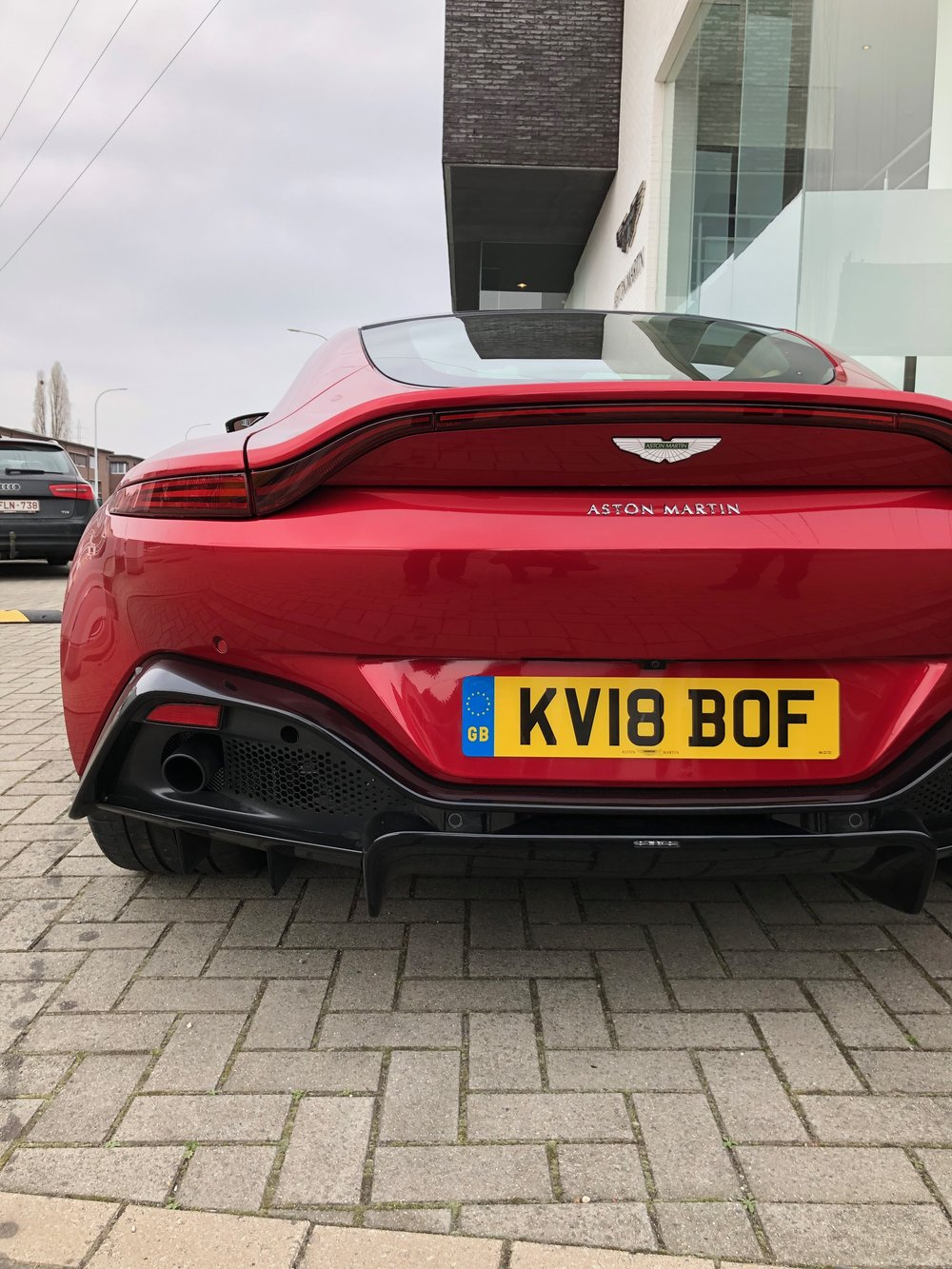 The Vantage has some of the most gorgeous tail light design I've seen in cars to date